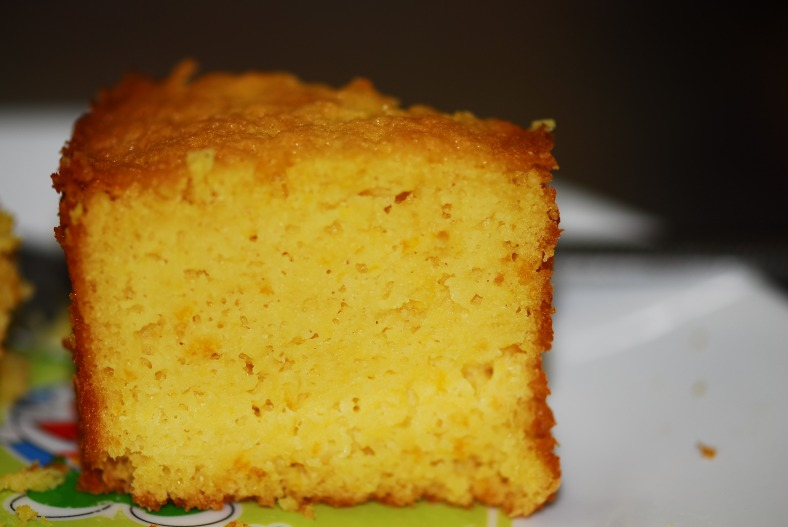 Orange Almond Cake 2